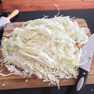 Zuurkool maken - Hoe snijd je het